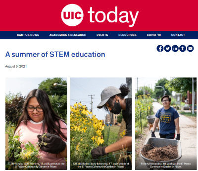 STEM Scholars in the News